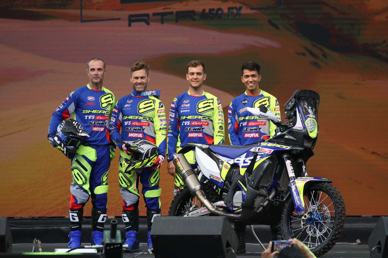 Sherco TVS Factory Rally Team
