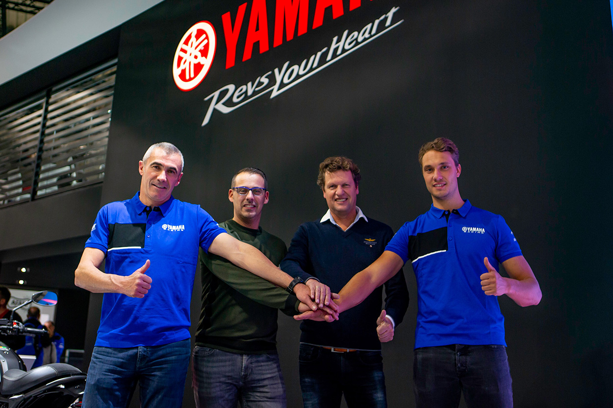 Yamaha Supported MXGP Team