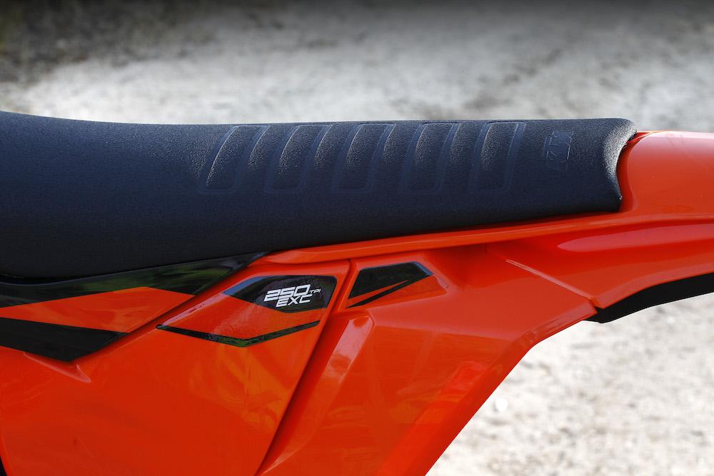 KTM EXC 250 TPI  '18 asiento