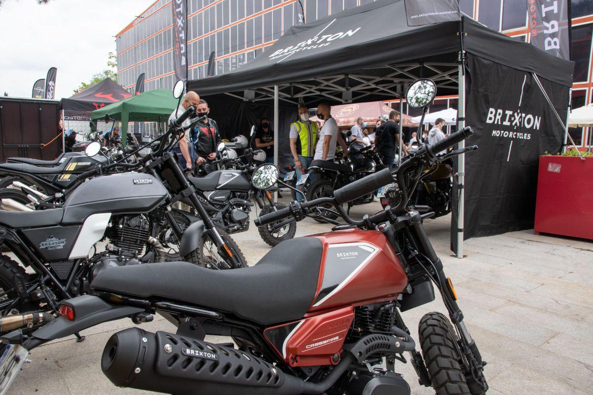 Brixton brilla en el Motorama Madrid 2021
