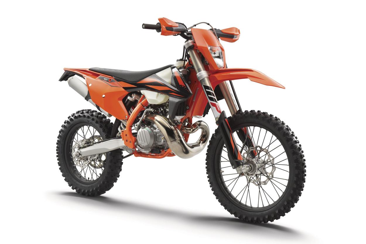 KTM EXC 250 y 300 TPI 2019