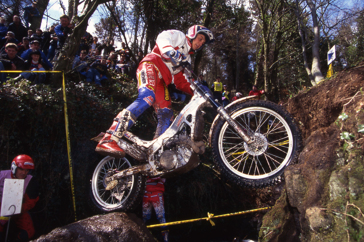 Marc Colomer con la Montesa Cota 315