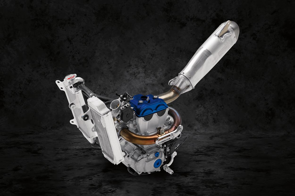 Motor de la Yamaha YZ 250 F