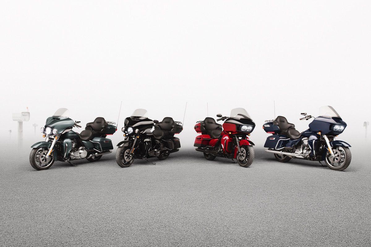 Harley Davidson incluirá mejoras en la electrónica de su gama Touring 2020