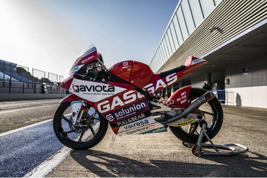 Gran debut de GasGas en los test de Jerezz
