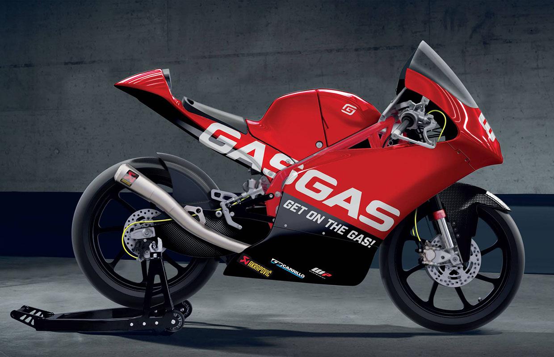 GasGas debutará en Moto3 en 2021