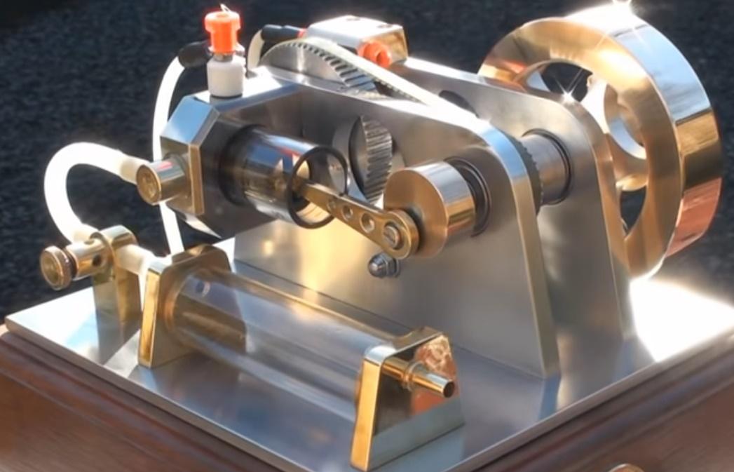 motor cristal