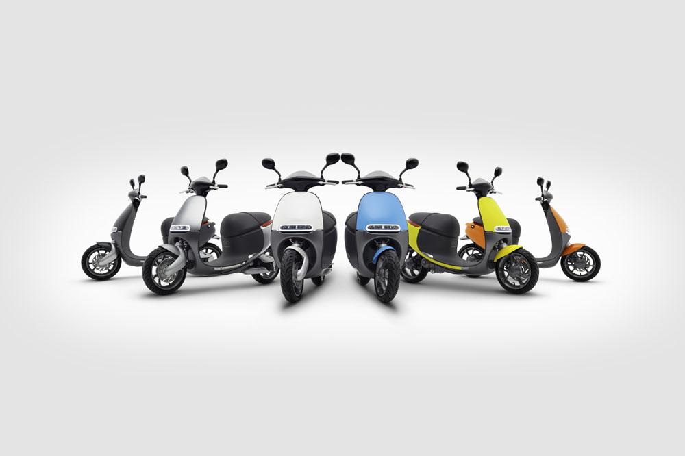 Scooter electrico Gogoro