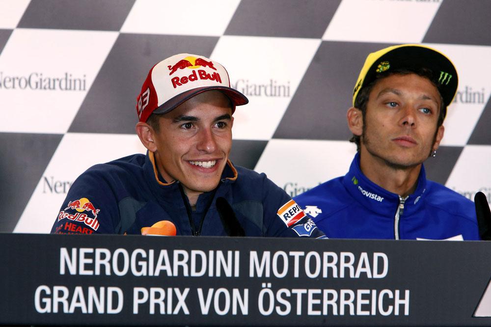 Marc Marquez en el GP de Austria