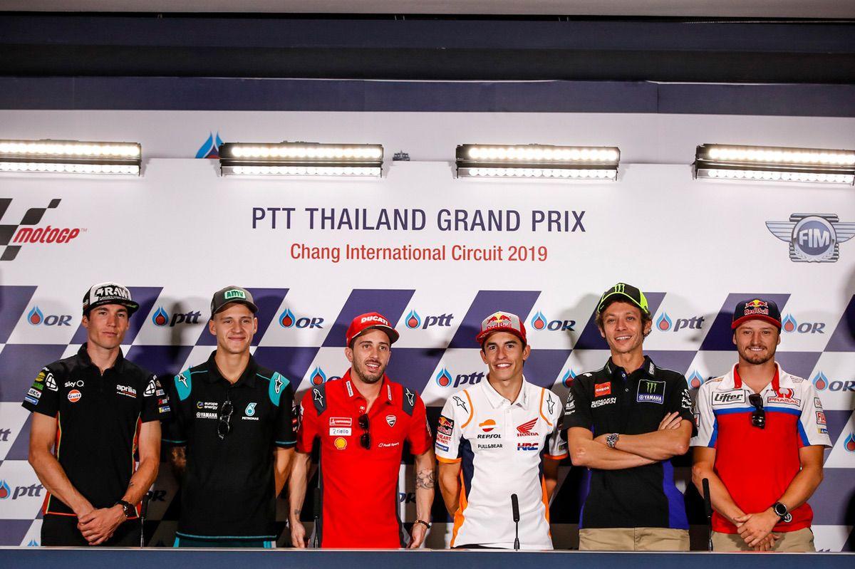 El Gran Premio de Tailandia cambiará de fecha