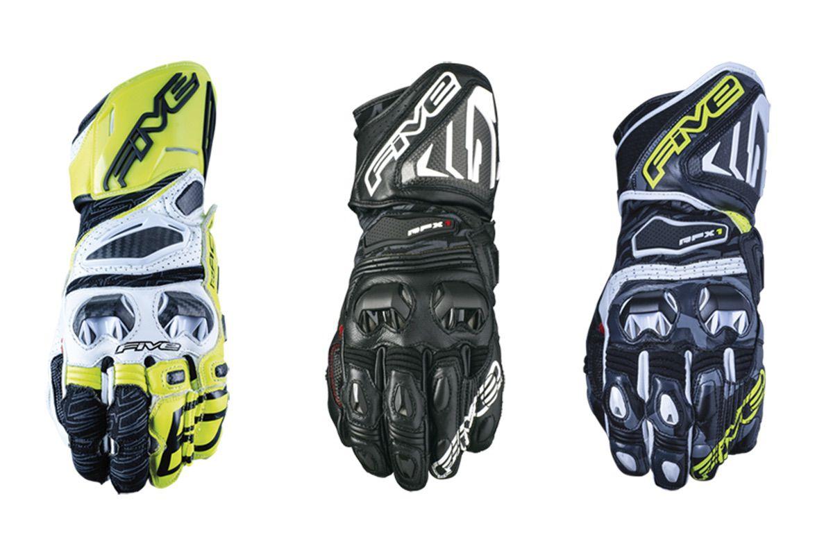 FIVE presenta la gama de guantes Racing