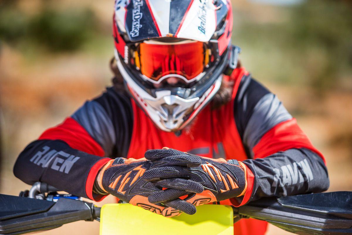 Prueba Guantes de moto Five MXF3