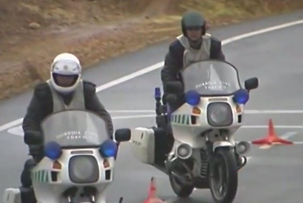 entrenamiento guardia civil
