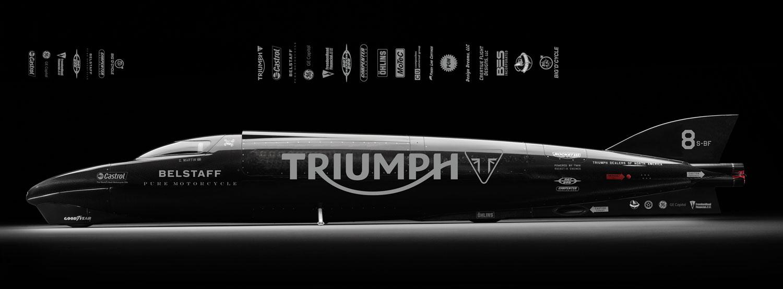 Guy Martin y Triumph a por el récord en Bonneville