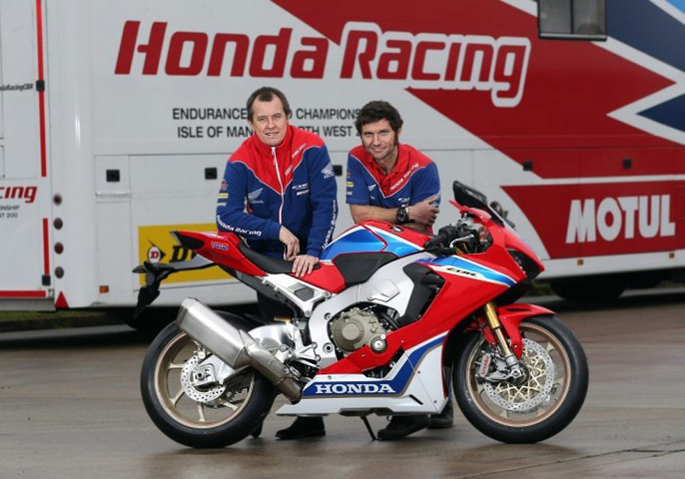 Guy Martin TT 2017 Honda