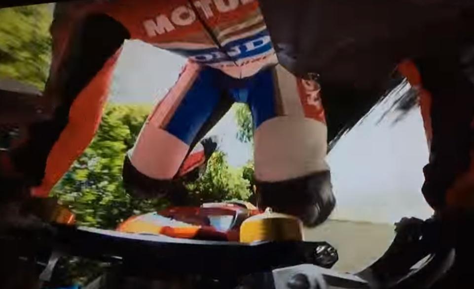 Guy Martin TT Isla de Man 2017 caida