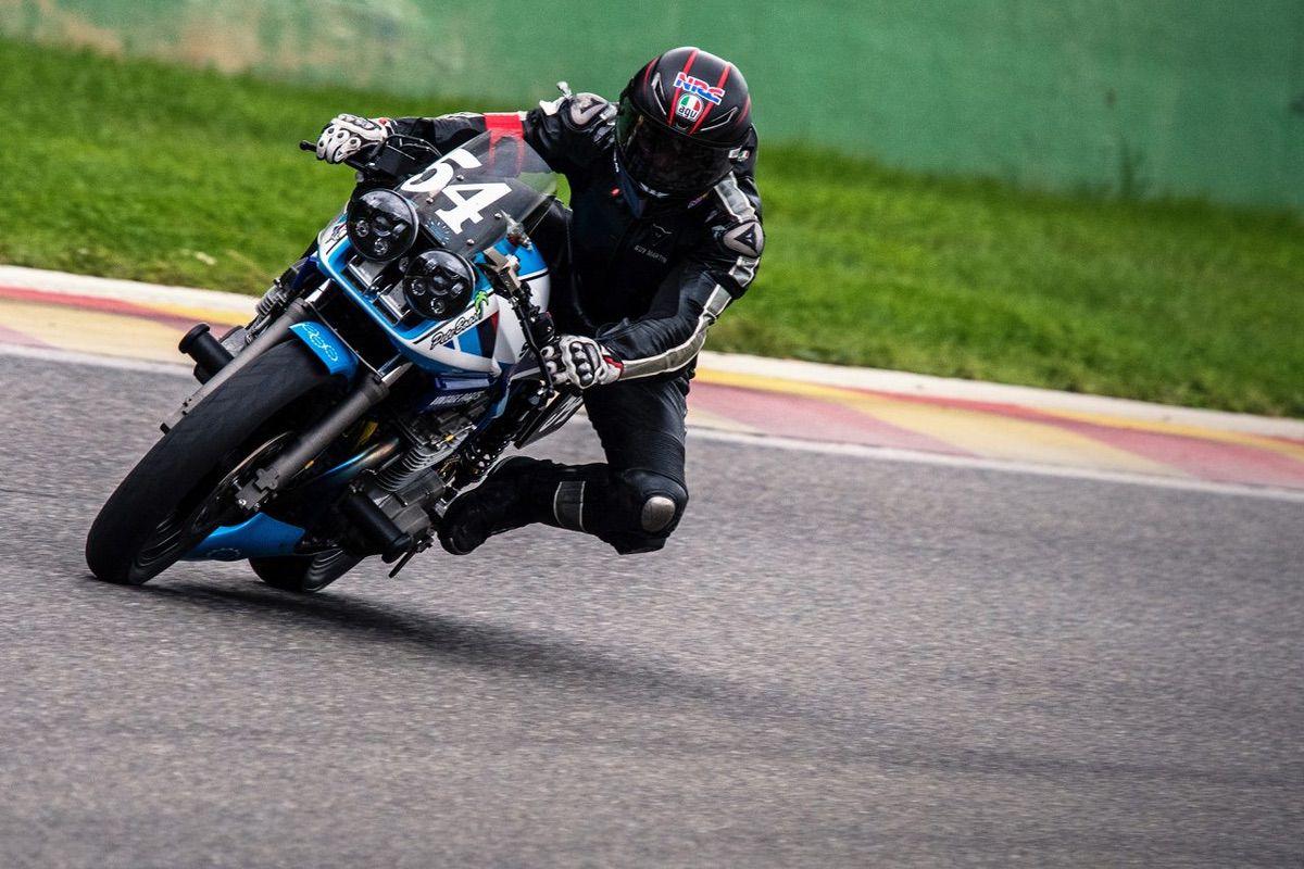 Guy Martin españa Motorland Classic Suzuki Team Katana