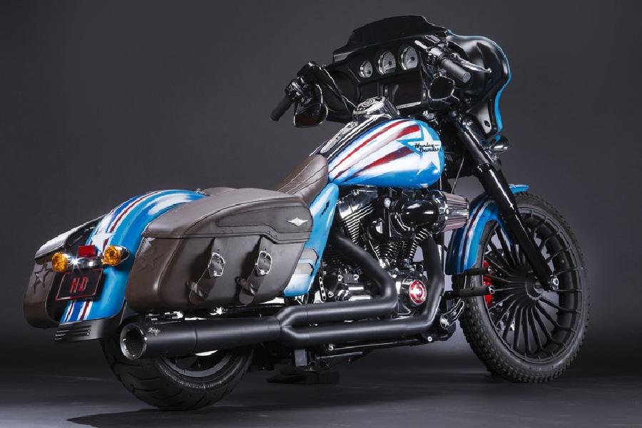 Harley Davidson del Capitán América