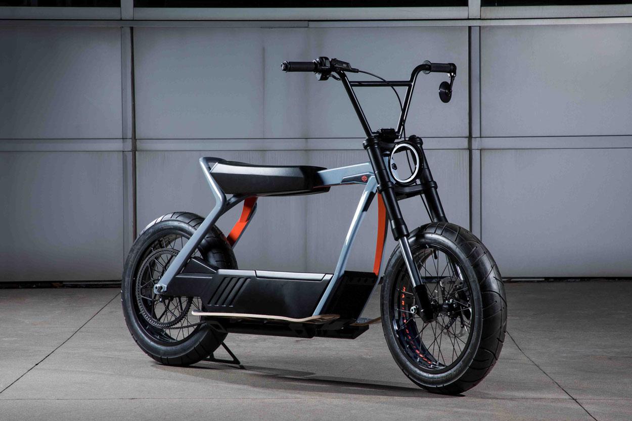 Nuevos conceptos de motos eléctricas de Harley Davidson