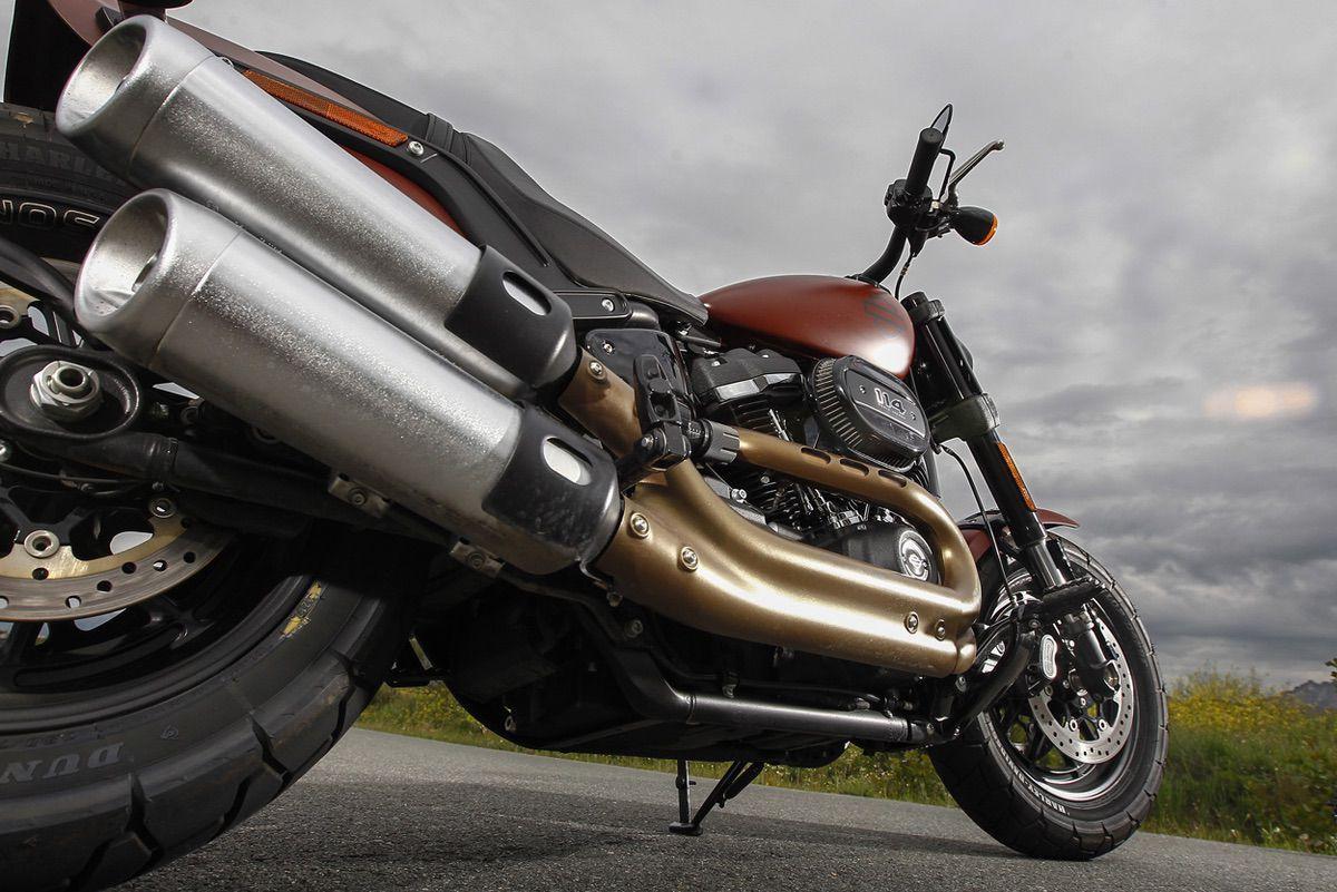Escape de la Harley Davidson Fat Bob