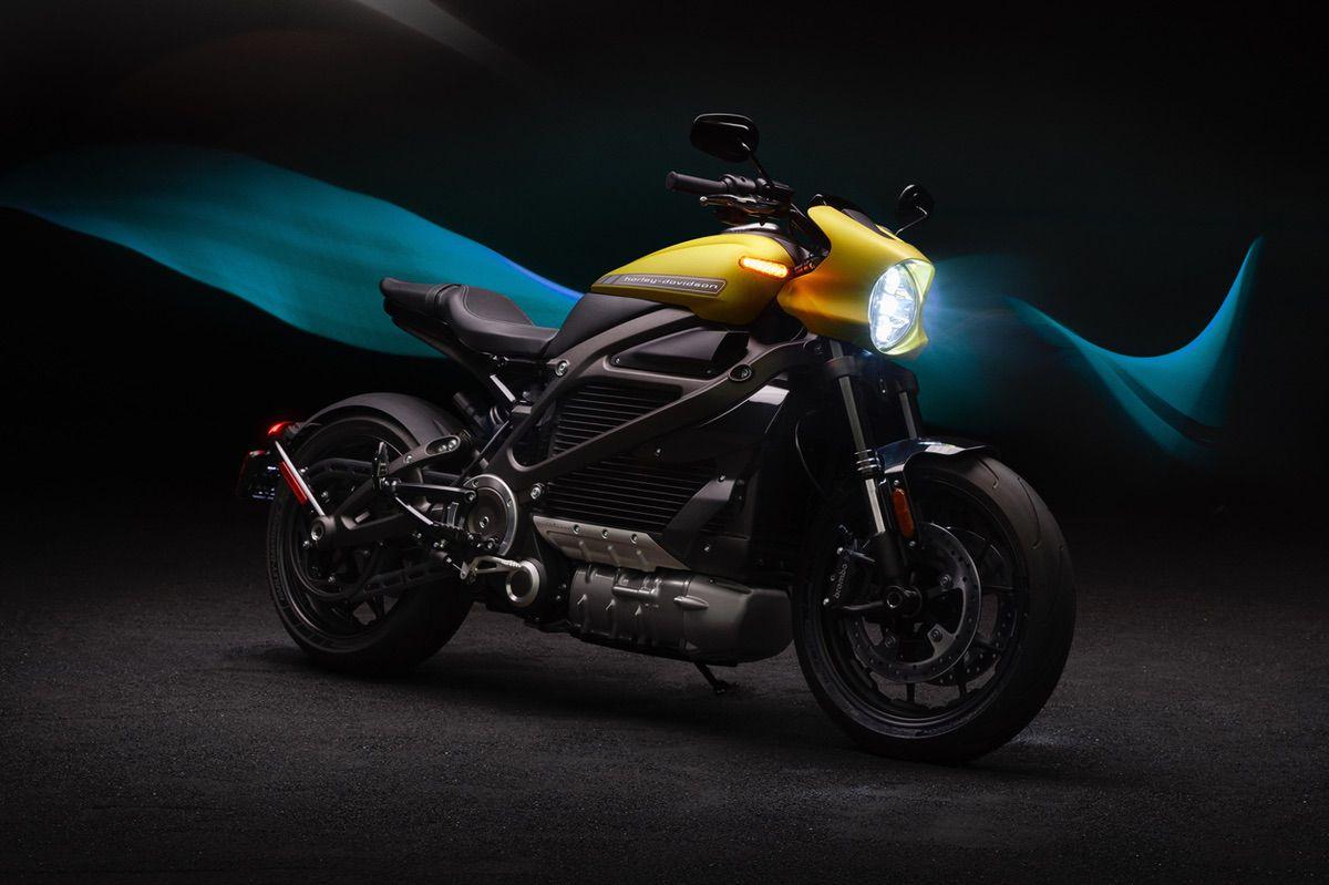 Harley Davidson Livewire eléctrica 2020
