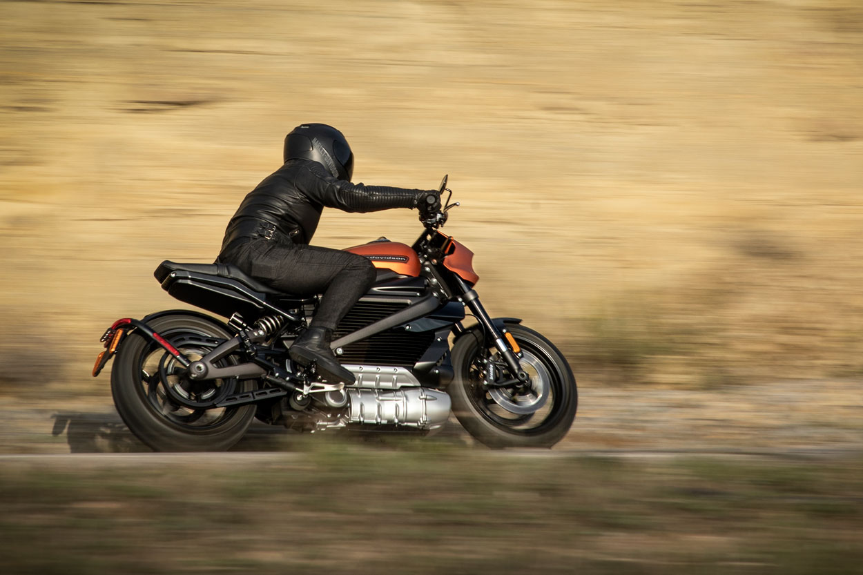 Harley Davidson Livewire eléctrica