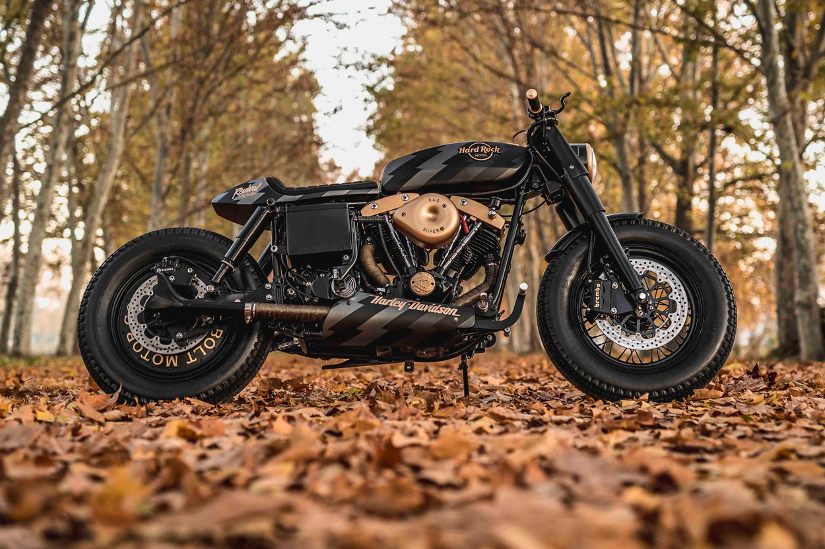 Harley Davidson Old Wine