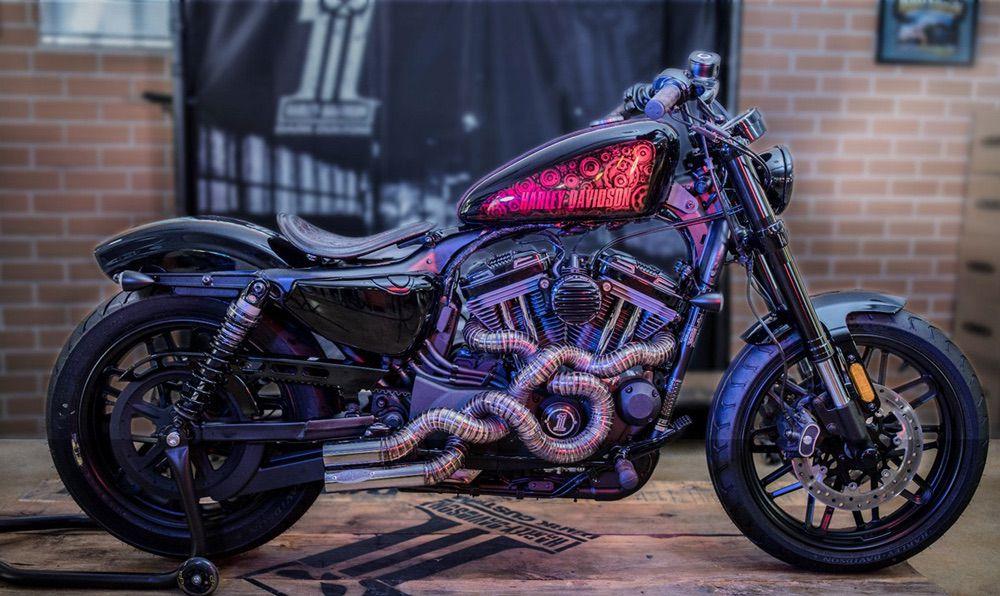 Harley Davidson Sportster Roadster Metal Snake Lisboa