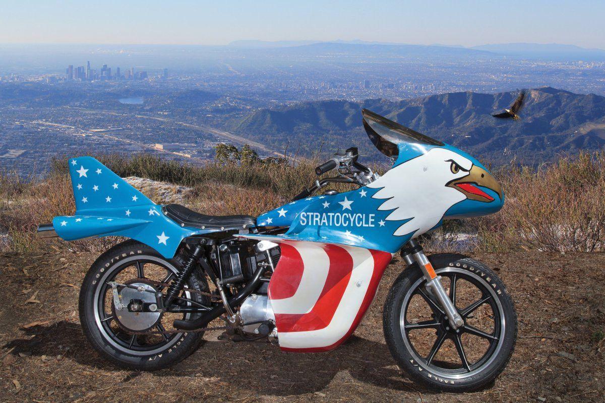 100.000 euros por la Harley de Evel Knievel: más que un sueño