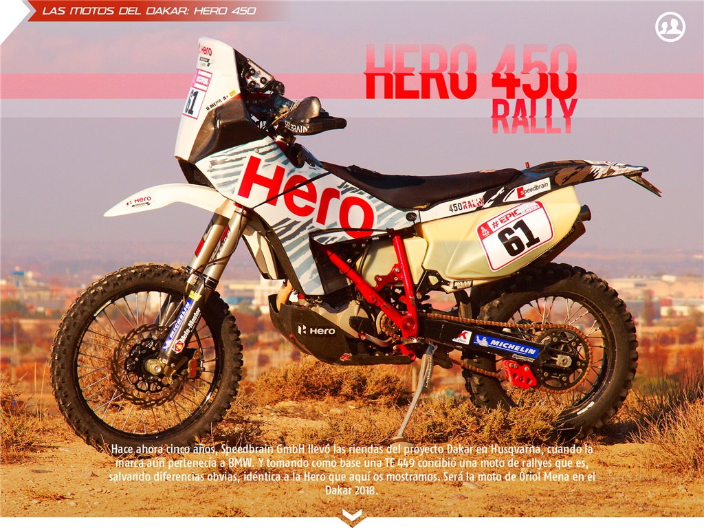 Hero 450 Rally Dakar 2018