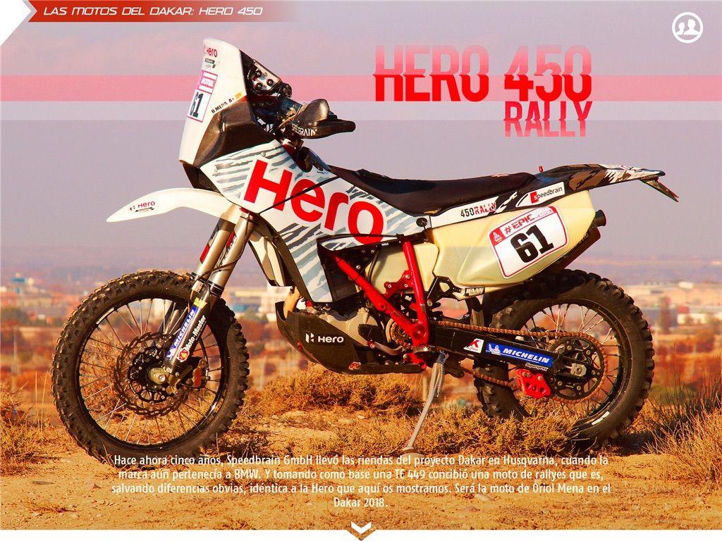 Hero 450 Rally Dakar 2018