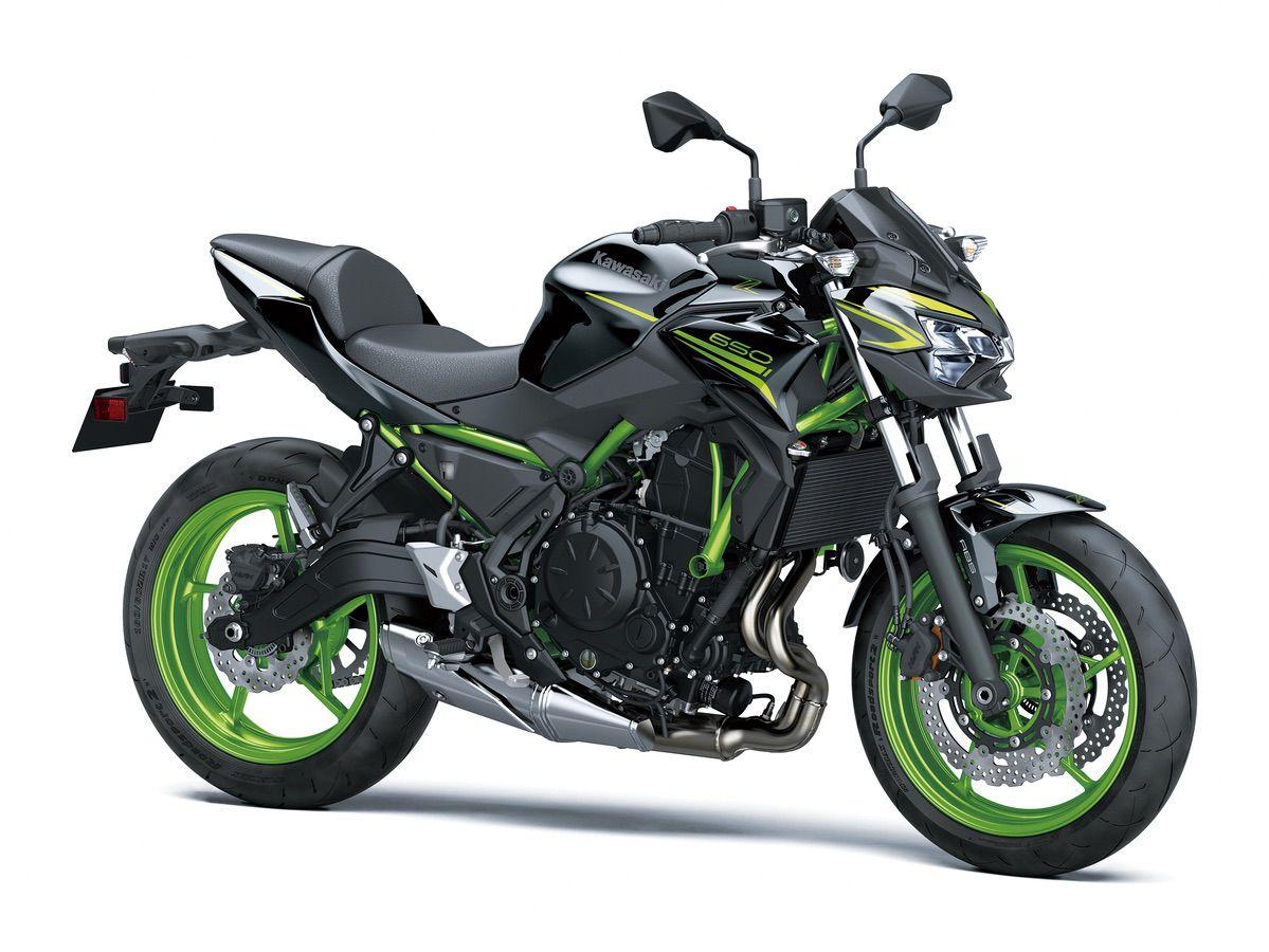 Nuevos colores para la gama 650 de Kawasaki