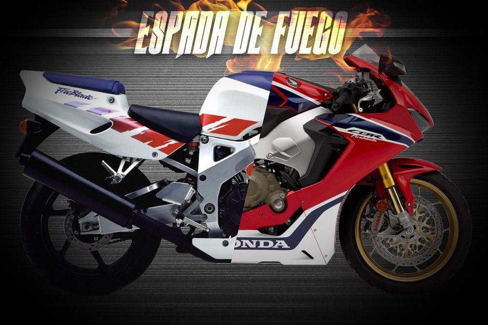 Historia de la Honda CBR 900 y 1000 RR Fireblade