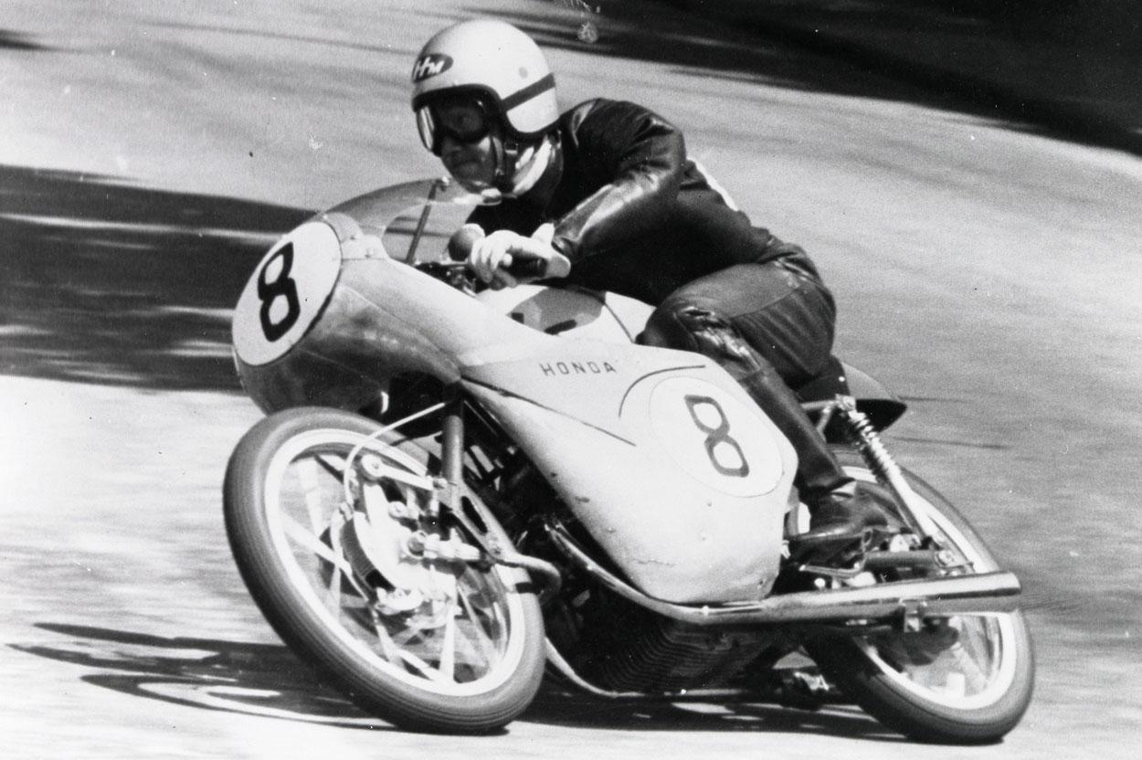 Taniguchi con Honda en 1959
