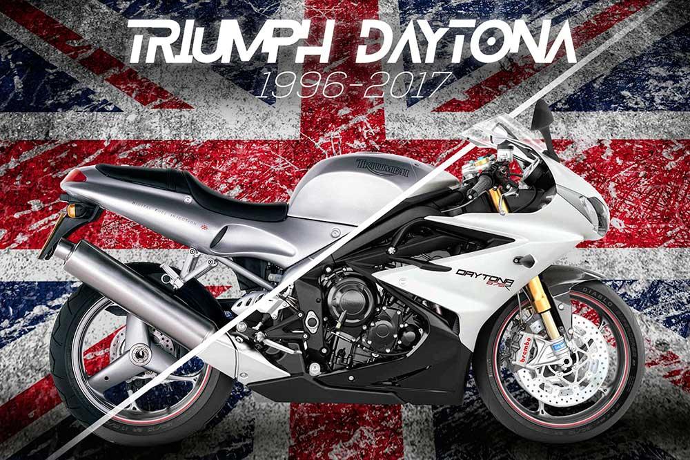 Historia Triumph Daytona