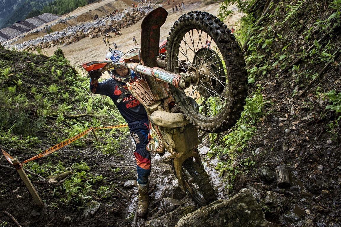 Entrenar los antebrazos para enduro y motocross