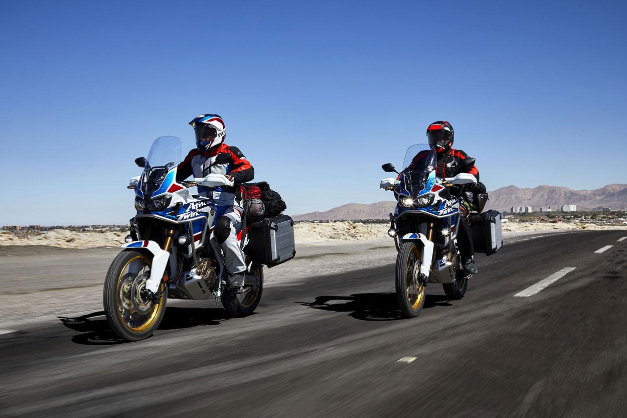 Durante la Rider 1000 se podrá probar una Honda Africa Twin