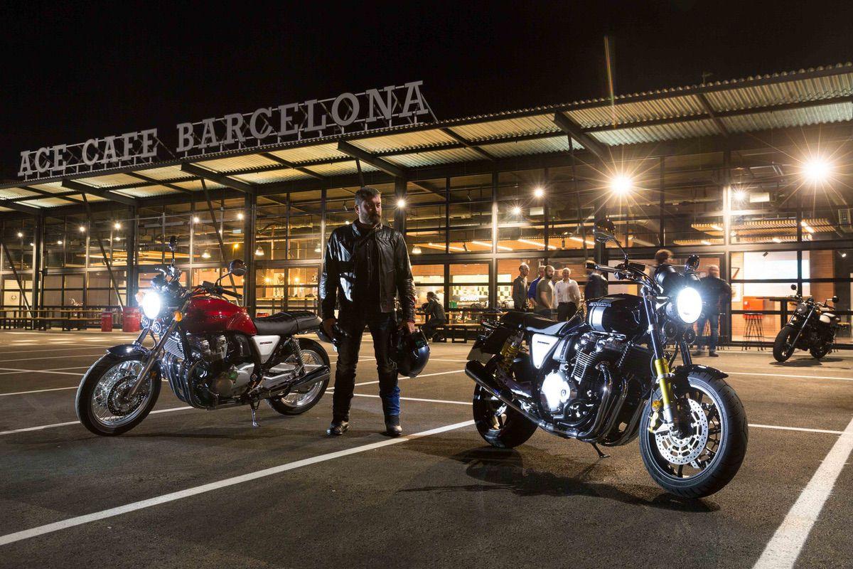 Honda CB1100EX & CB1100RS en el Ace Cafe Barcelona