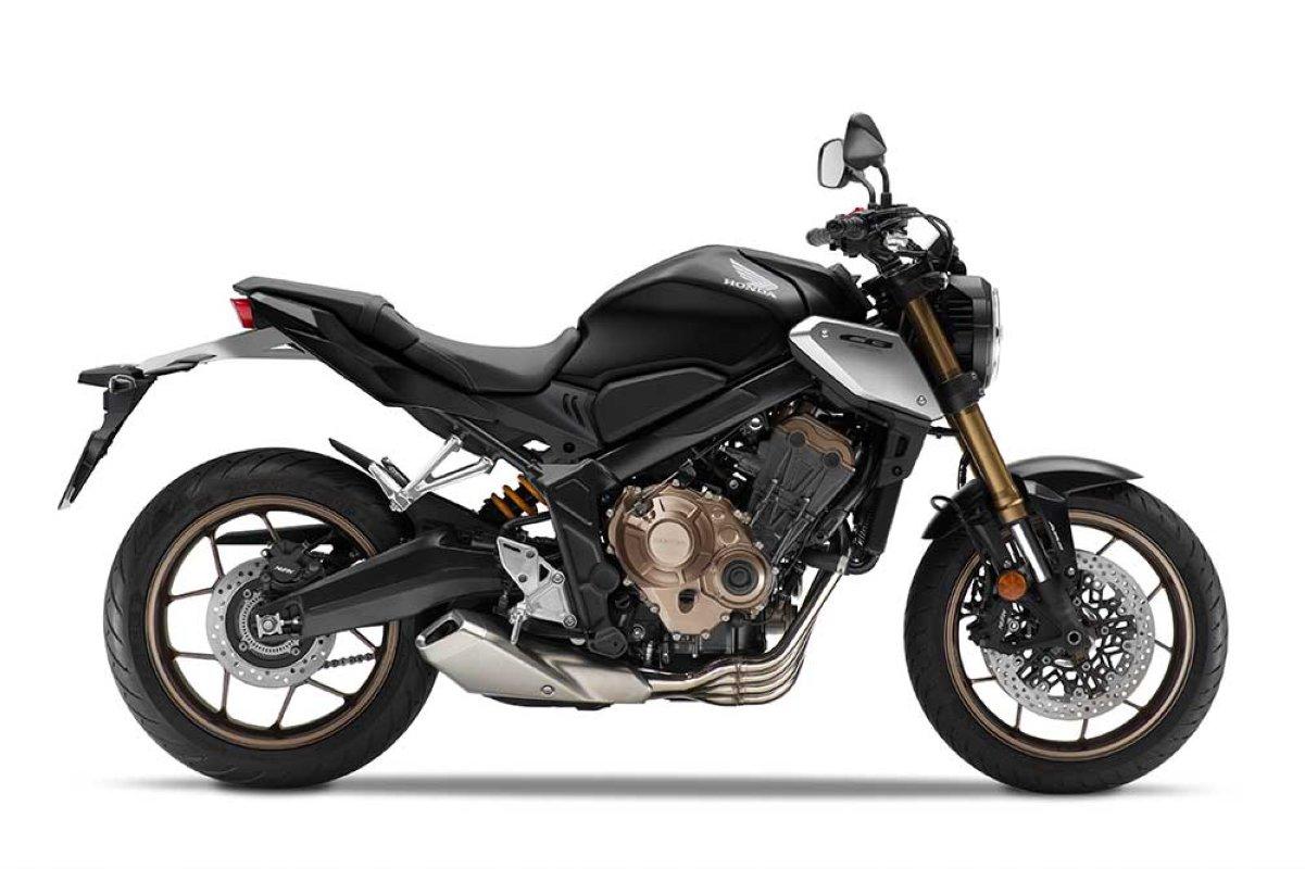Las 25 motos naked y retro más vendidas, de más de 125 cc