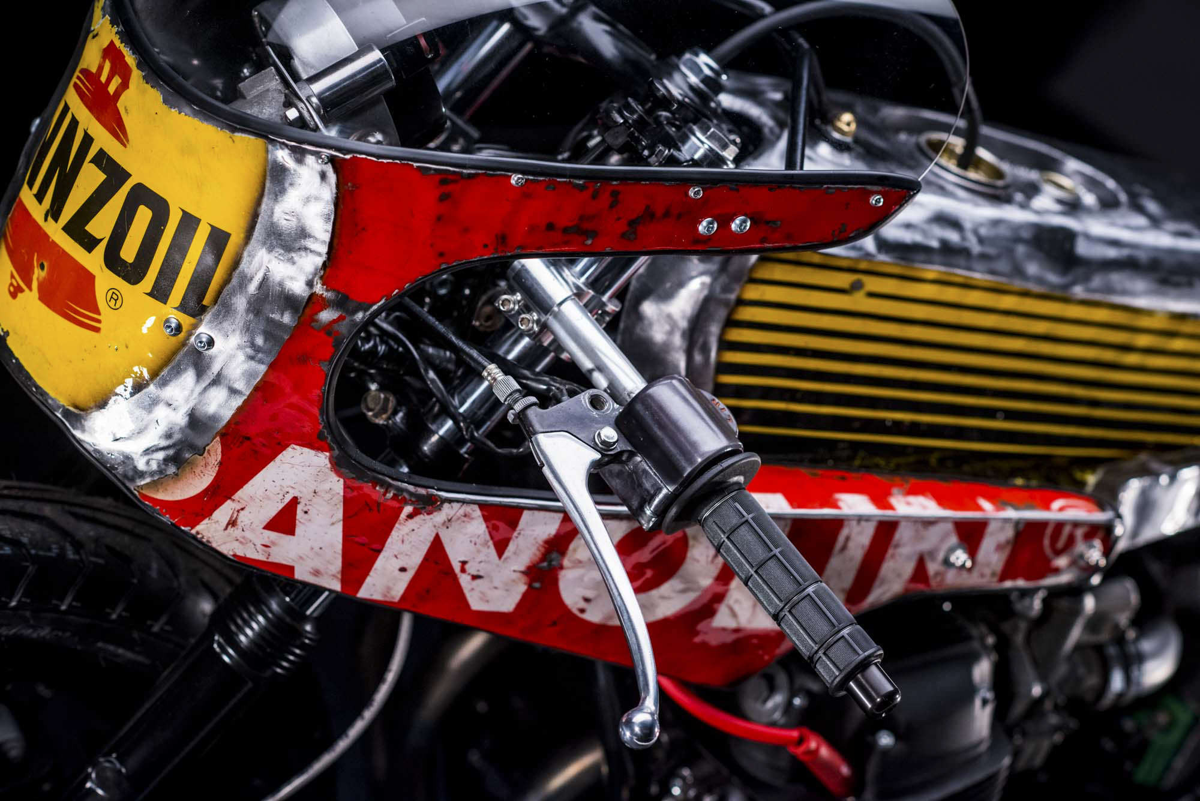 Honda CB750 Pennzoil Vibrazioni Art Design