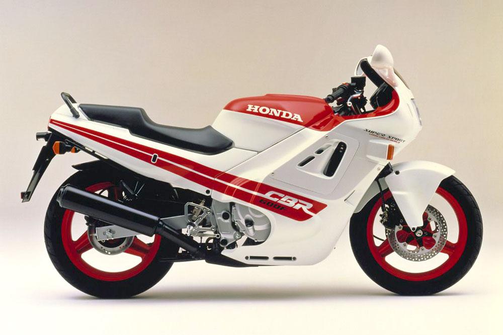 Honda CBR 600 F de 1988