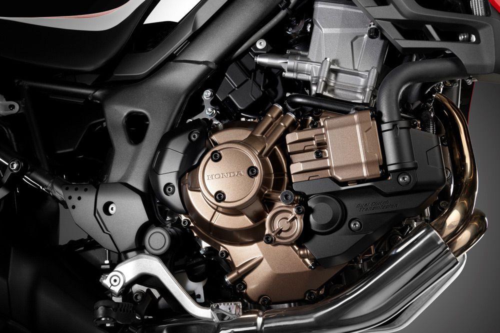 Honda CRF 1000 L con cambio automático DCT