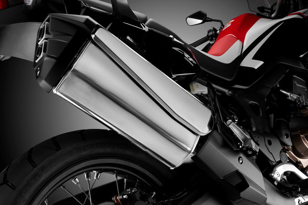 Silenciador de la Honda CRF 1000 L Africa Twin