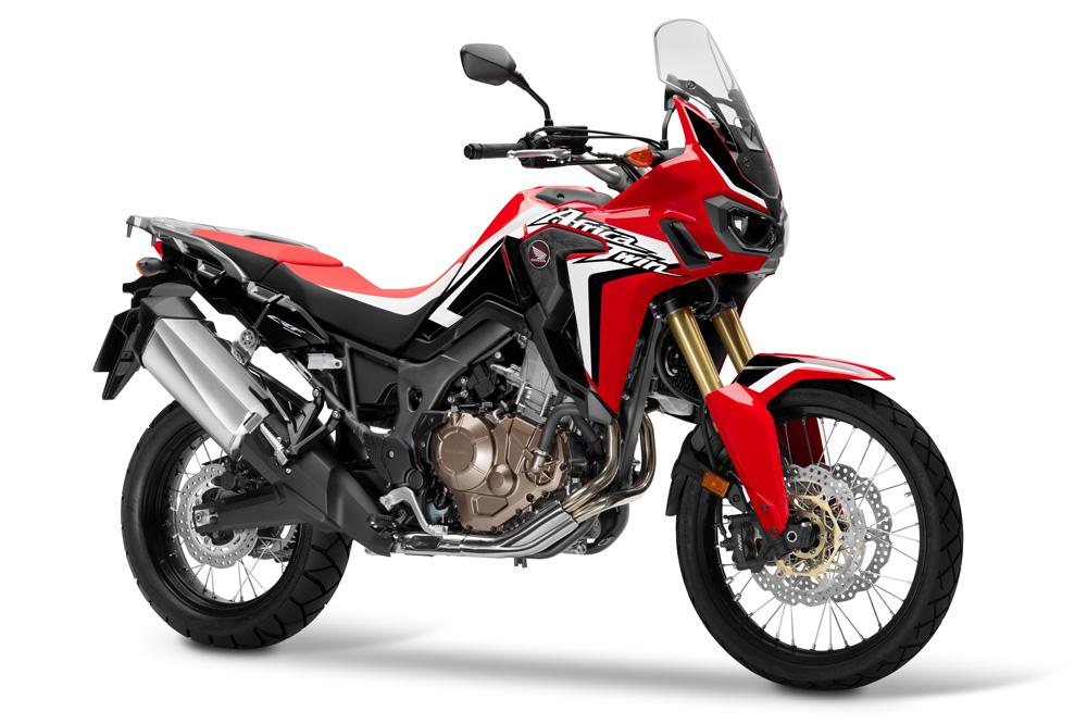 Protección aerodinámica de la Honda Africa Twin