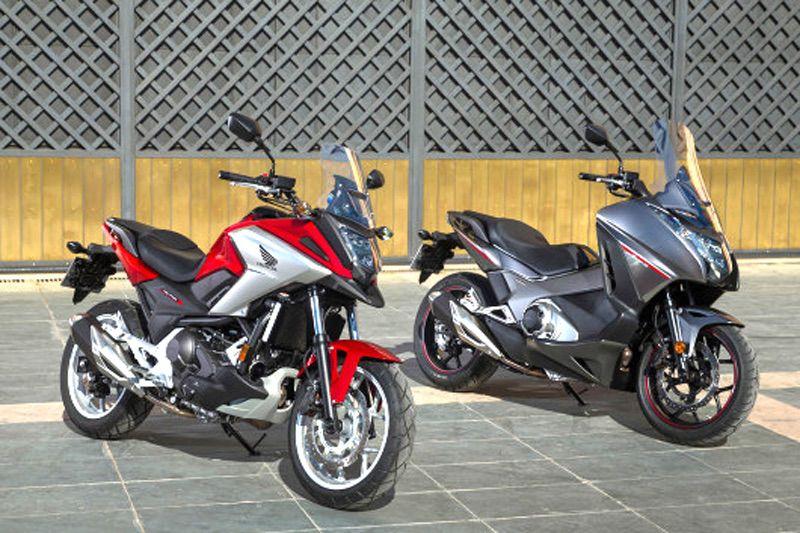 Honda Integra y Honda NC 750 X