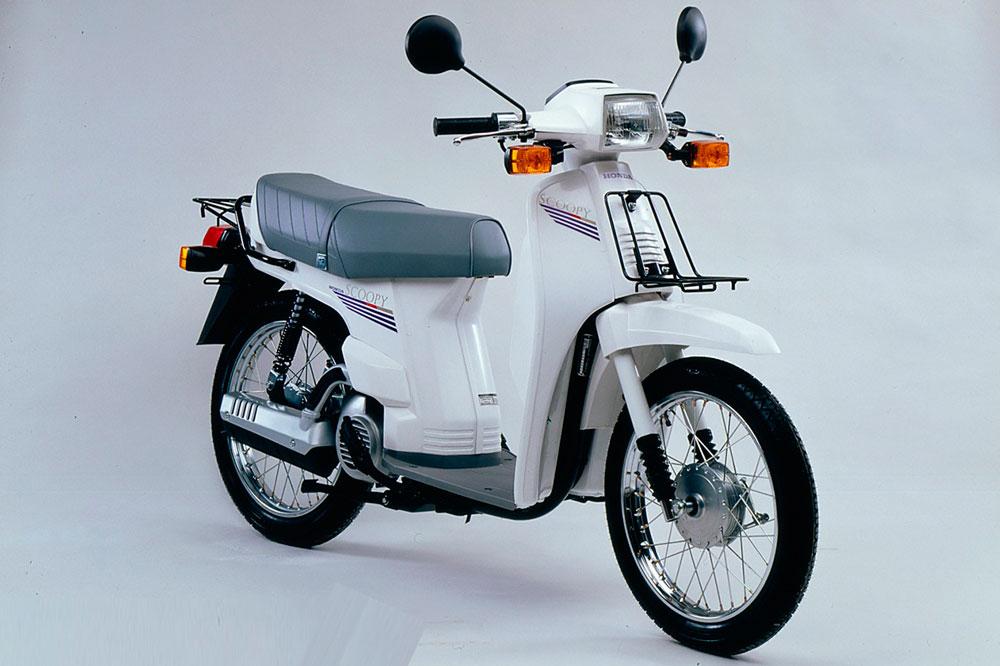 Primera versión del Honda Scoopy