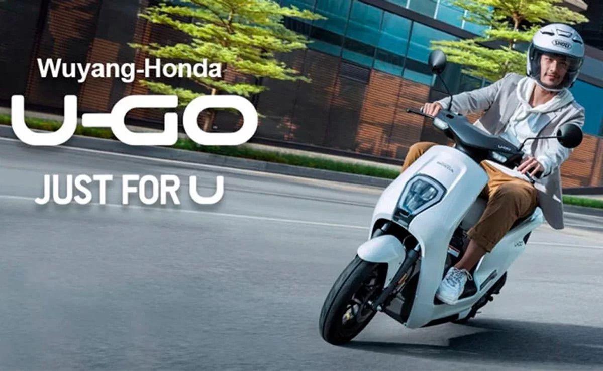 Honda lanza su primer scooter eléctrico: U-Go, menos de 1000 euros
