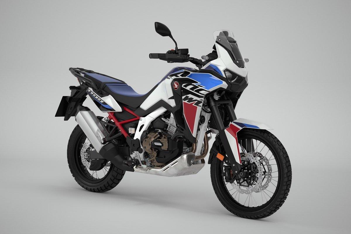 Nuevas Honda Africa Twin CRF1100L 2022: DCT, pantalla y colores
