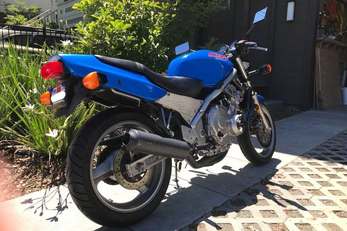 Moto de ensueño: Honda CB-1 400 de 1990 por poco más de 2000 euros