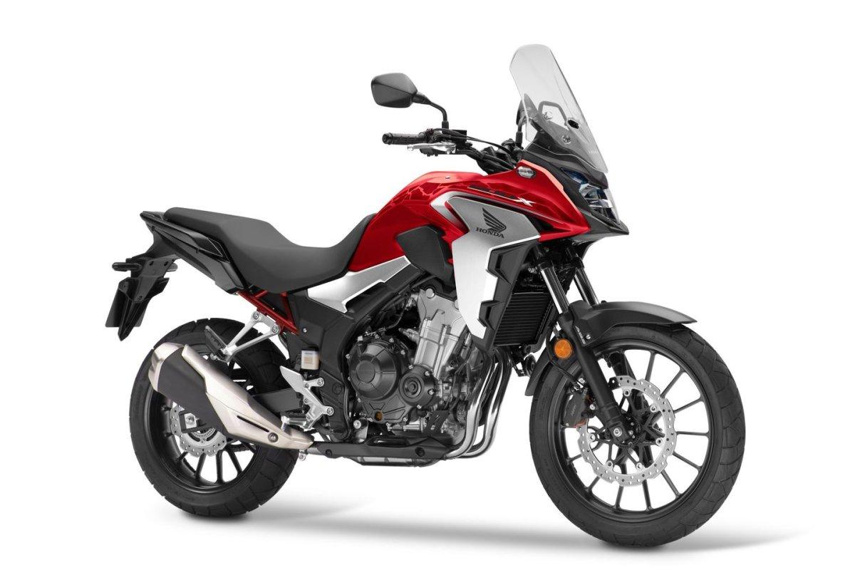 Cambios en las Honda CB 500 2022